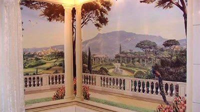 Illusionsmalerei Stuckfenster kreative und handwerkliche Beratung