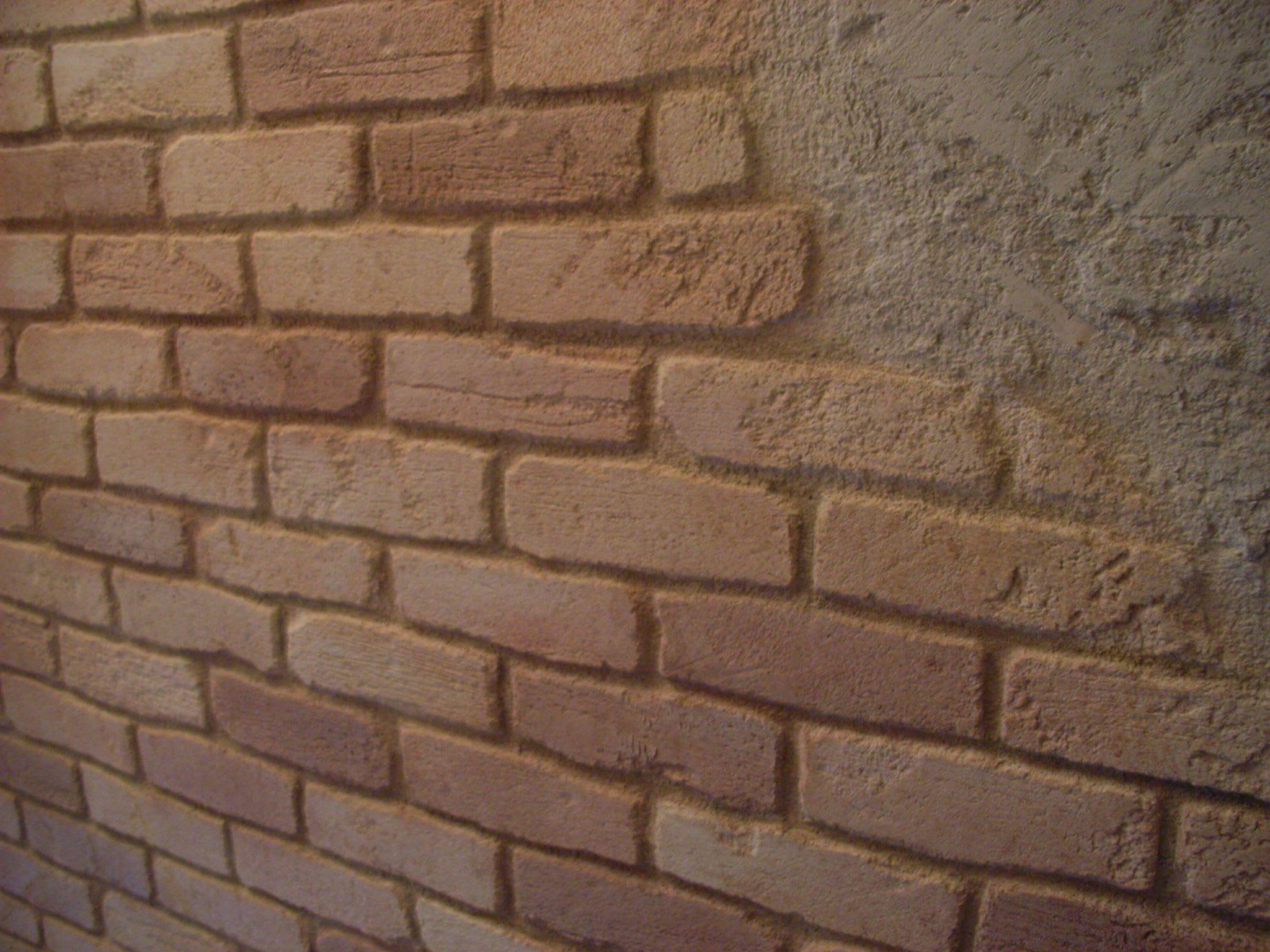 Steinimitation Brick Steine