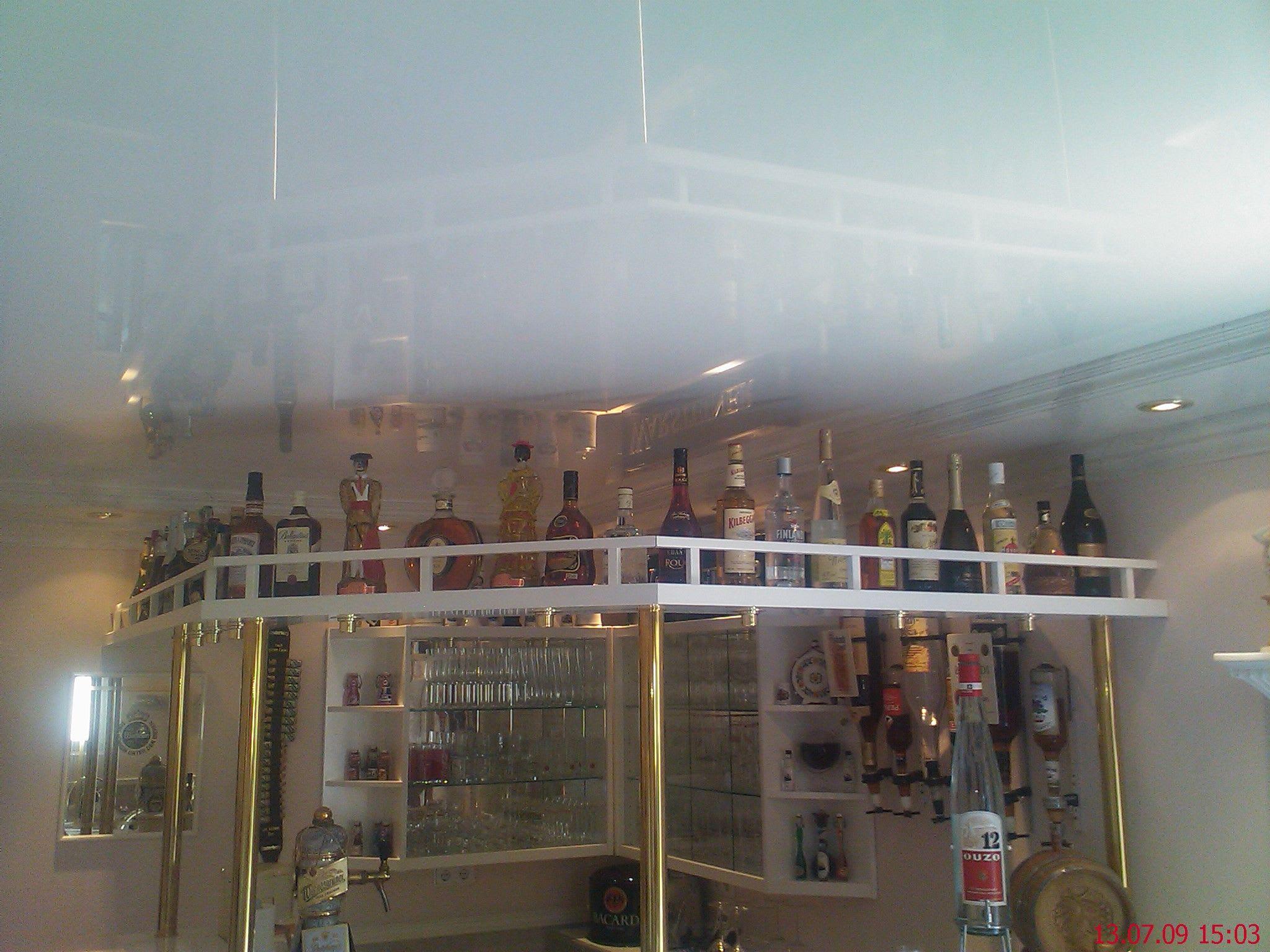 Steinimitation mit Bar