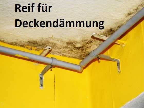 Foto Reif für Deckendämmung