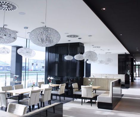 Akustikdecke Restaurant