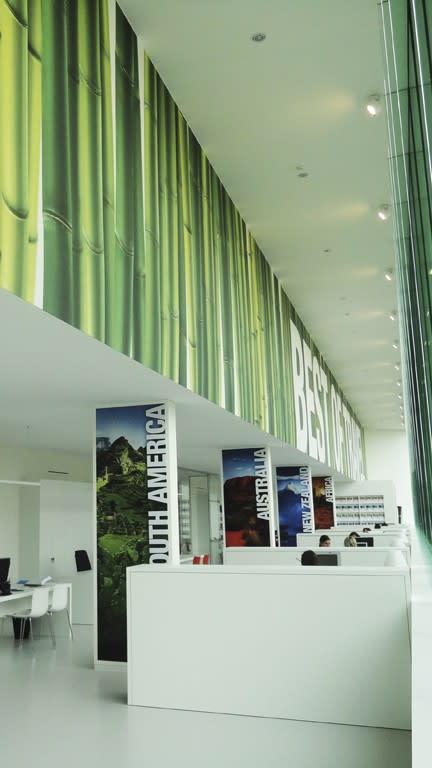 Bedruckte Wandverkleidung 4,80 x 28m Akustikgewebe 495D