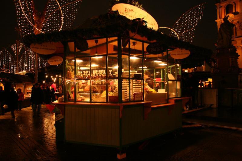 Mayers Brunnenstand Weihnachtsmarkt