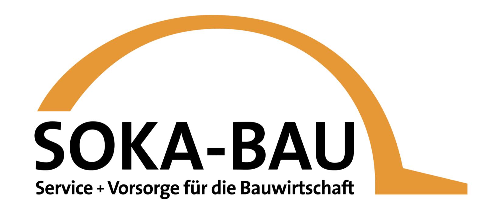 Soka Bau Logo mit weißem Hintergrund