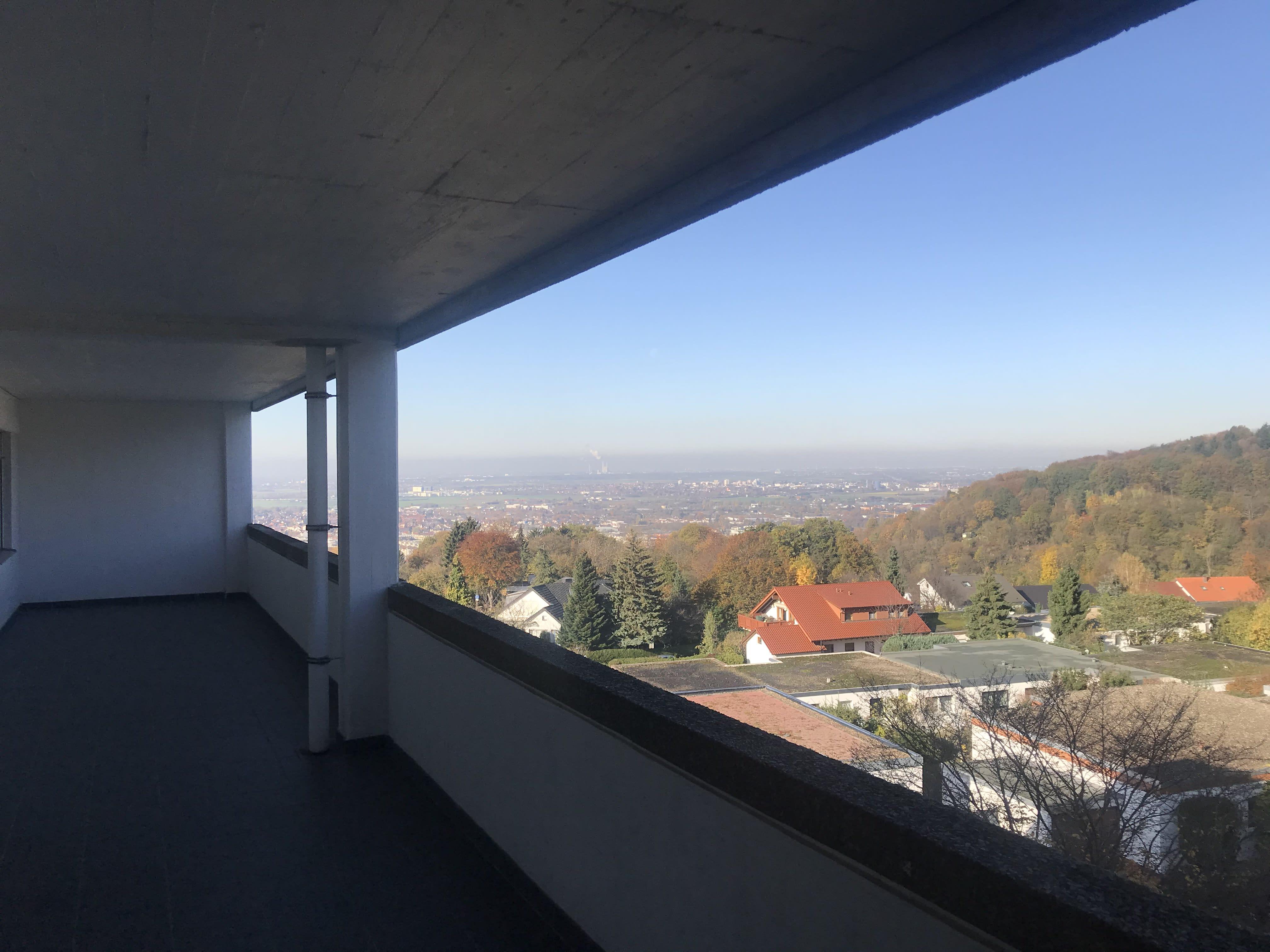 Heidelberg Boxberg Blick über Tal