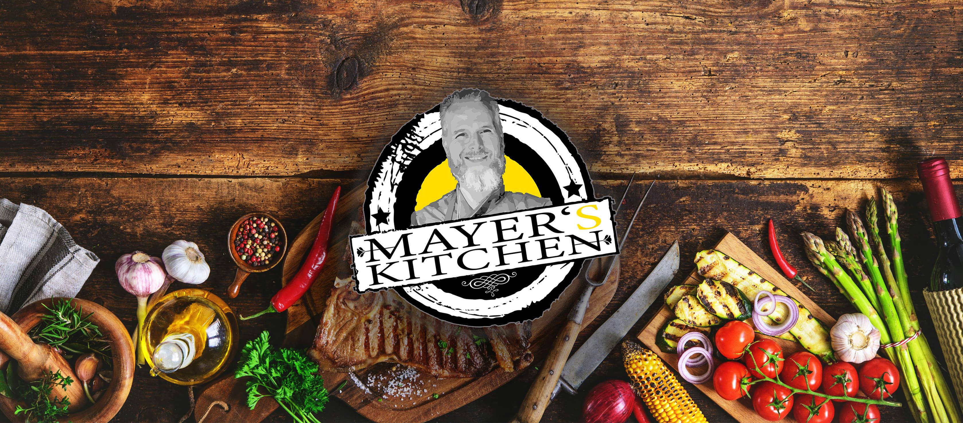 Mayers Kitchen Speisekarteseite