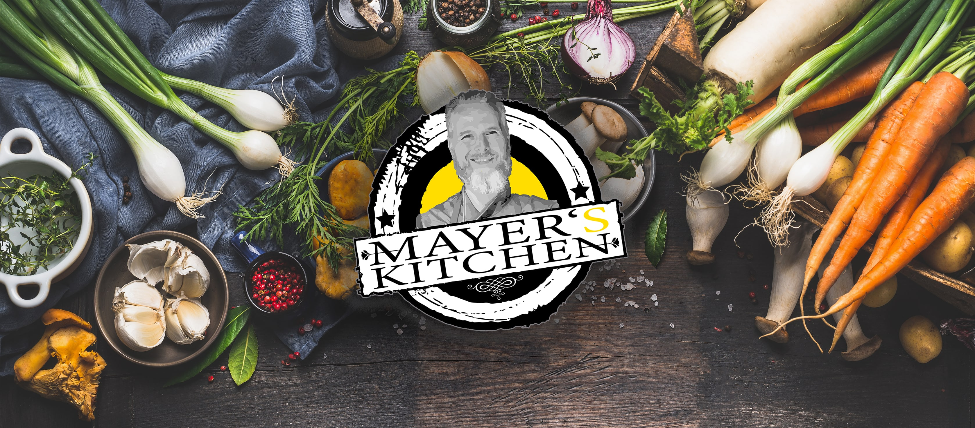 Mayers Kitchen Speisekartenseite