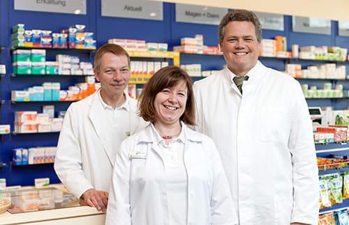 Team Cura Apotheke Speyer mit Alexander Hengst