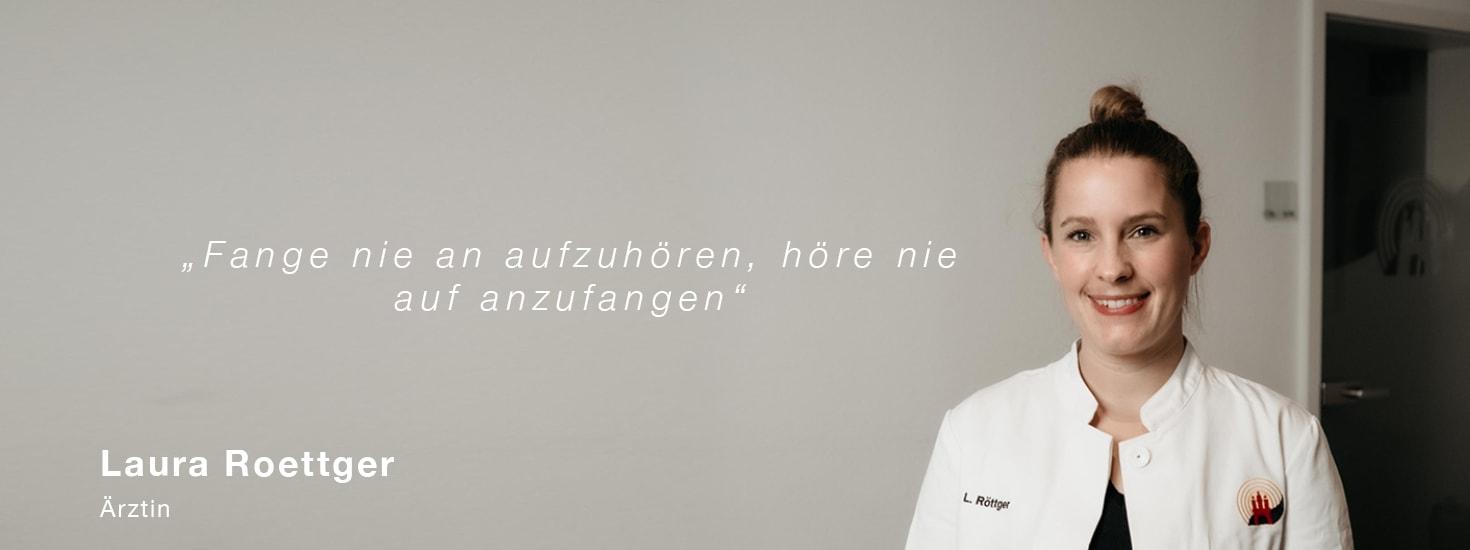 SZH Portrait Ärztin Laura Roettger