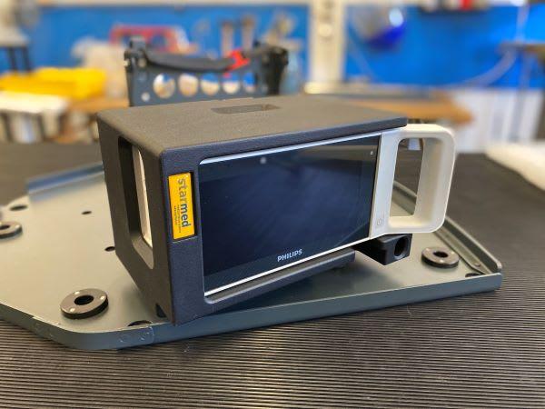 Gerätehalterung Philips MX100 MIT Dockingstation