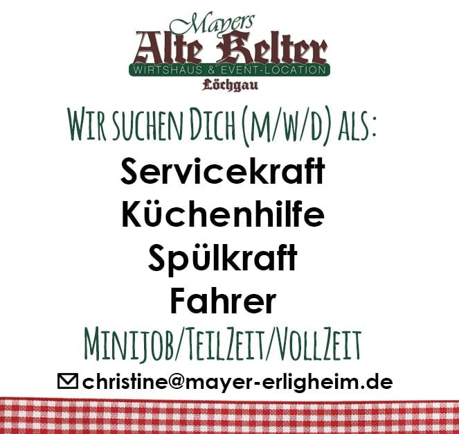 Stellenanzeige_Spülkraft_Küchenhilfe_Fahrer