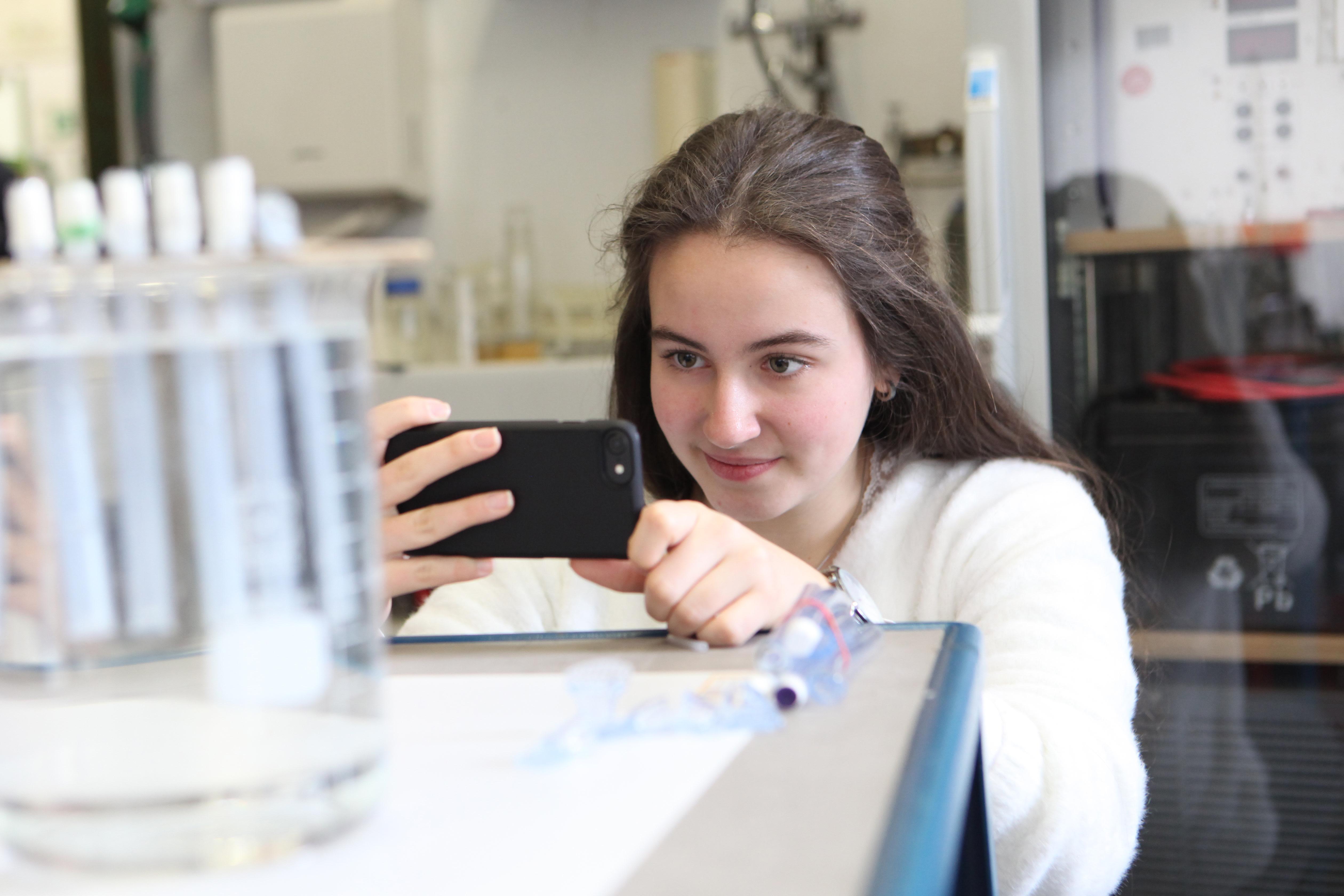 ERLAB Brennstoffzelle Anastasia Möller Liebfrauenschule