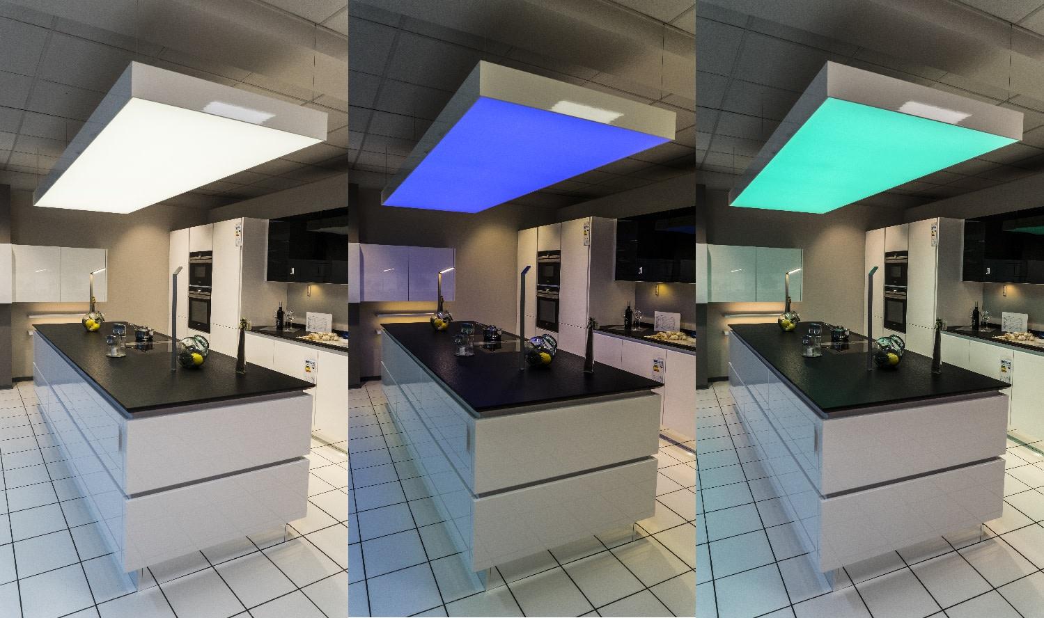 Küche Deckenelement verschiedene Farben
