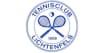 Logo Tennisclub Lichtenfels blau Tennisschläger