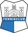 Logo Tennisclub Neustadt an der Saale blau weiss