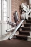 Treppenlift mit Sicherheitsschanier