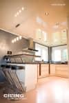 Küche CILING mit Barhockern