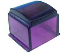 Capot de voyant violet CH102436