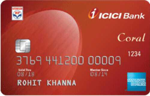 ICICI Bank™ HPCL Coral American Express™ Credit Card
