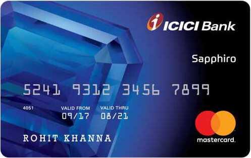 ICICI Bank™ Sapphiro Credit Card