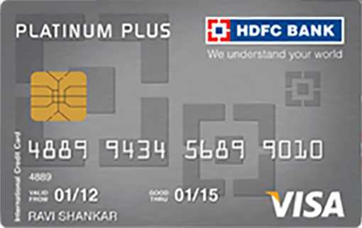 HDFC Bank Platinum Plus Credit Card