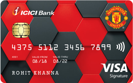 Manchester United ICICI Bank™ Signature Credit Card