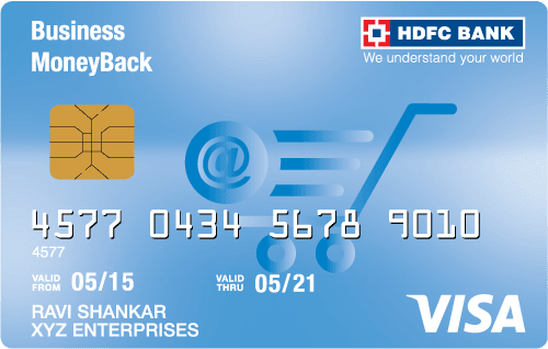 HDFC Bank Business Moneyback Credit Card