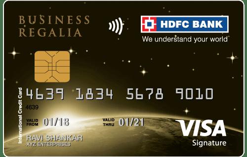 HDFC Bank Business Regalia Credit Card
