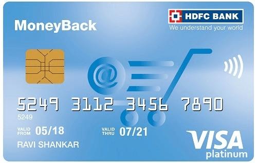 HDFC Bank Moneyback Card