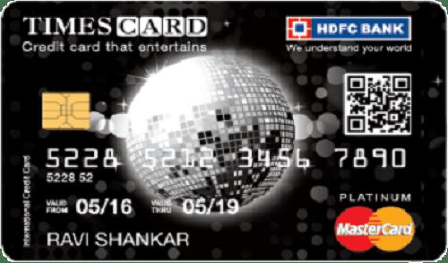 HDFC Bank Platinum Times Card
