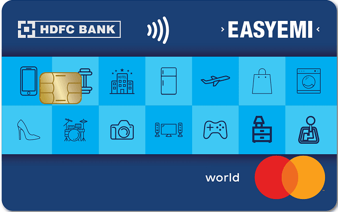 HDFC Bank Easy Emi Credit Card