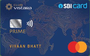 Club Vistara SBI Card Prime