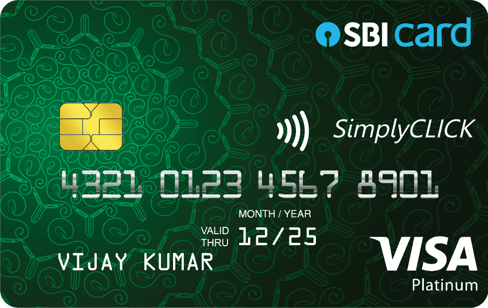 SimplyCLICK Credit Card