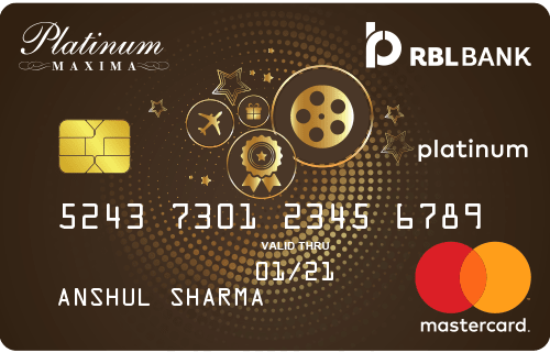 RBL™ Platinum Maxima Credit Card