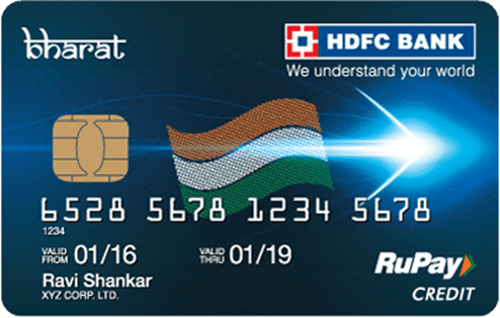 HDFC Bank Bharat Credit Card