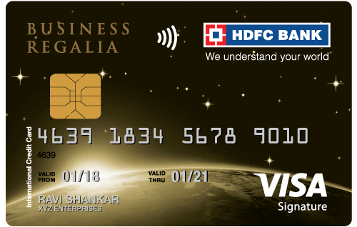 HDFC Bank Business Regalia Credit Card