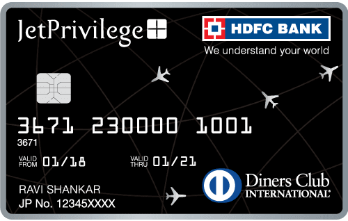 HDFC Bank Jetprivilege Diners Club