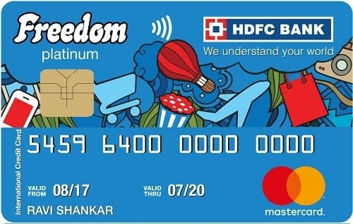 HDFC Bank Freedom Credit Card
