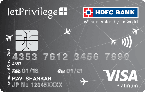 HDFC Bank Jetprivilege Platinum Credit Card
