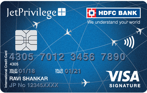 HDFC Bank Jetprivilege Signature Credit Card