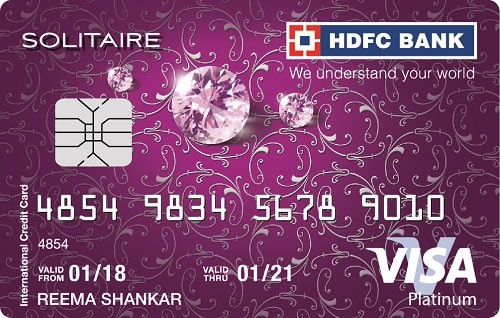HDFC Bank Solitaire - Only For Women