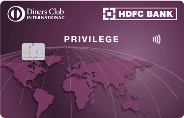 HDFC Bank Diners Club Privilege