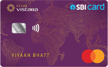 Club Vistara SBI Credit Card