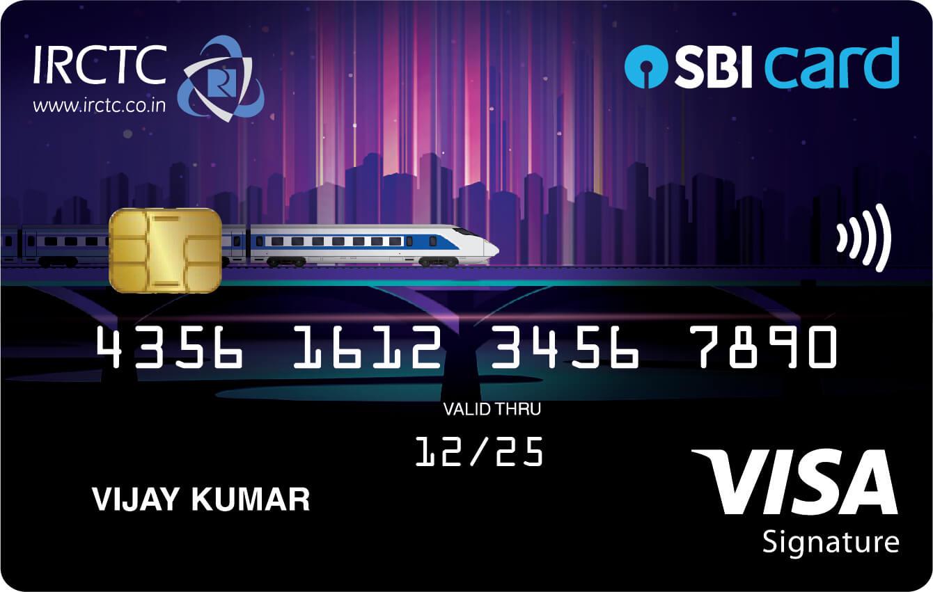 IRCTC SBI Card Premier