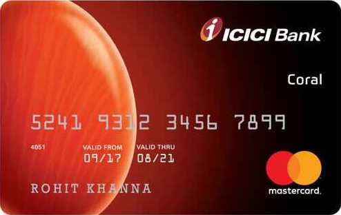 ICICI Bank™ Coral Credit Card