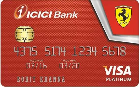 ICICI Bank™ Ferrari™ Platinum Credit Card