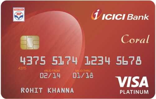 Apply  ICICI Bank HPCL Coral Credit Card Online