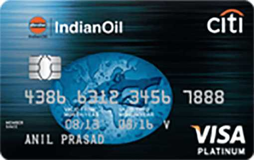 IndianOil Citi™ Platinum Credit Card
