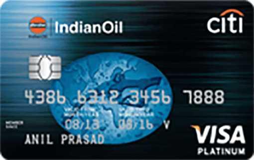 IndianOil Citi™ Platinum Credit Card