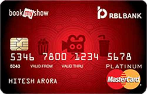 RBL™ Bank Movies and More Credit Card